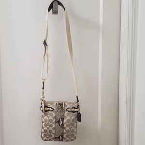 COPY - Coach Colette Signature Python Swingpack